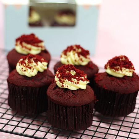 레드벨벳 컵케익 케이크만들기세트 (크림치즈 제외)